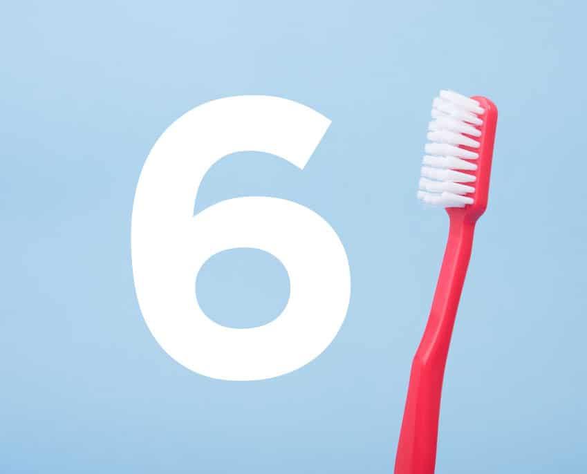 6 hábitos dañinos para los dientes